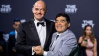 Gianni Infantino - Diego Maradona