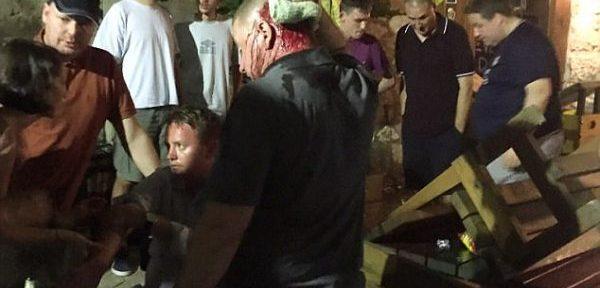 ბოსნია-ჰერცოგოვინაში ჩასულ შოტლანდიელ გულშემატკივრებს სასტიკად გაუსწორდნენ (ფოტო)