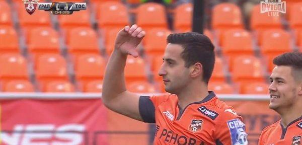ჭანტურიას მორიგი გოლი რუსეთის ჩემპიონატში (ვიდეო)