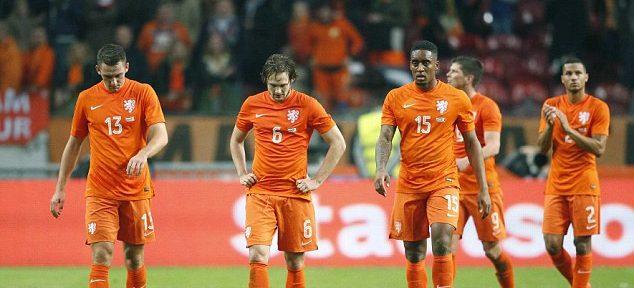 ჰოლანდიის ნაკრები მსოფლიოს ჩემპიონატზე ვერ ითამაშებს