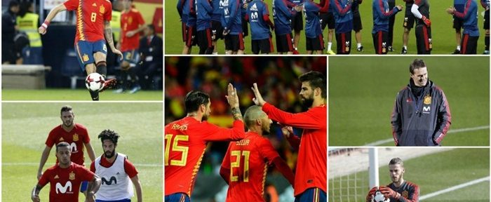 სამი ძლიერი სასტარტო შემადგენლობა, რომლითაც ესპანეთს მუნდიალზე თამაში შეუძლია (ფოტოები)