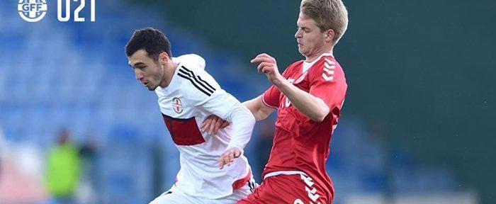 U21: საქართველოს ფრე დანიასთან შეხვედრაში