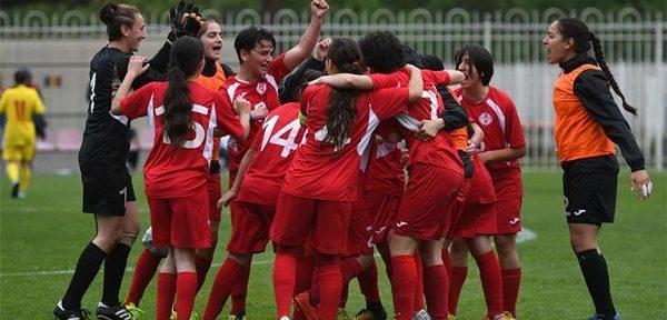 საქართველოს 16-წლამდე გოგონათა ნაკრებმა უეფას განვითარების თასზე ემორე მატჩიც მოიგო
