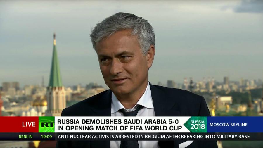 """მოურინიო: """"რუსეთის ნაკრებს ოპტიმისტურად ფიქრის მიზეზი უბრალოდ არ აქვს"""""""