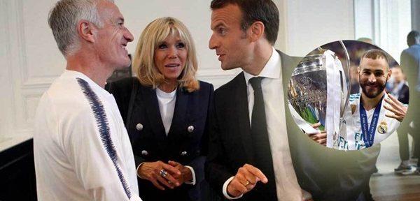 """საფრანგეთის პრეზიდენტი ბენზემაზე: """"ტალანტებიც კი, შესაძლოა, მწვრთნელმა არ გამოიძახოს ნაკრებში"""""""