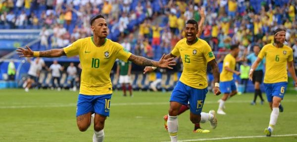 ბრაზილია მსოფლიო ჩემპიონატის მეოთხედფინალშია (ვიდეო)