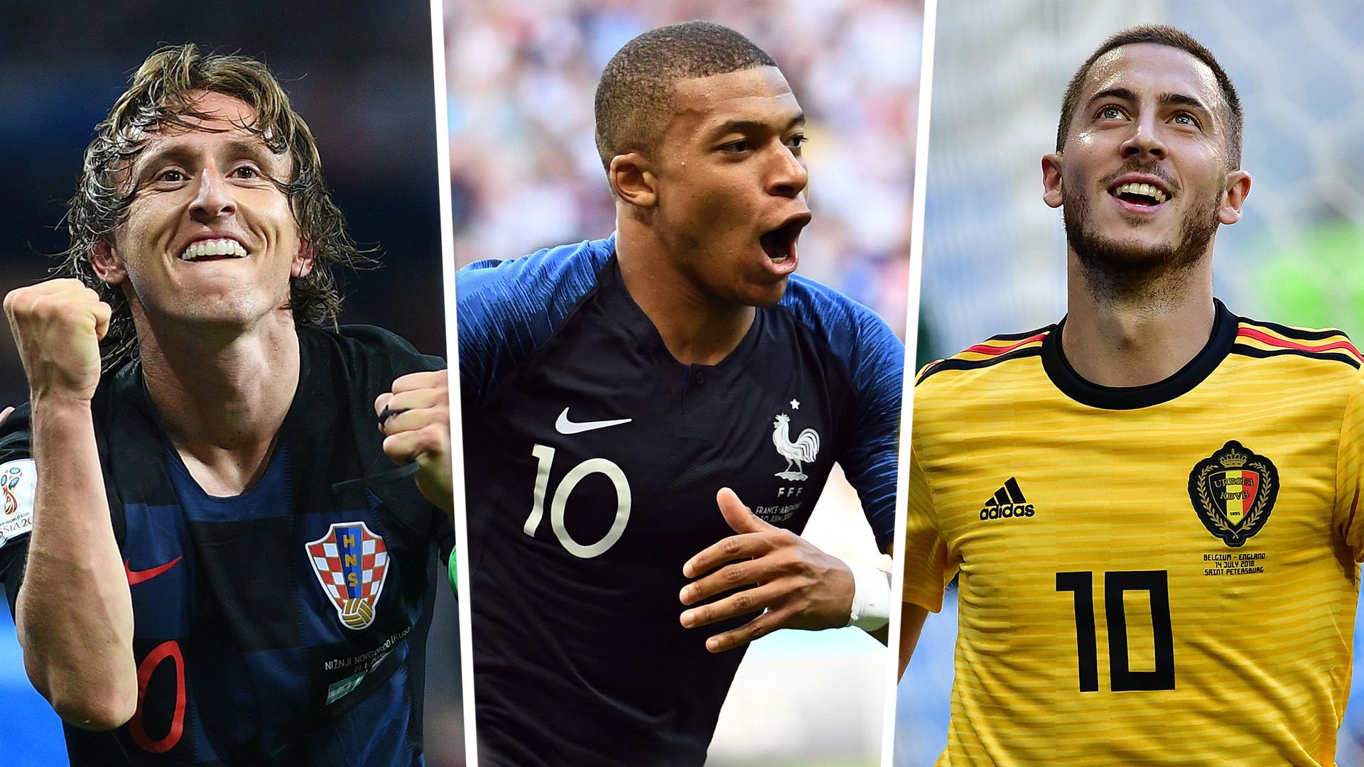 მსოფლიოს ჩემპიონატის საუკეთესი გუნდი Goal.Com-ის ვერსიით (ფოტოები)