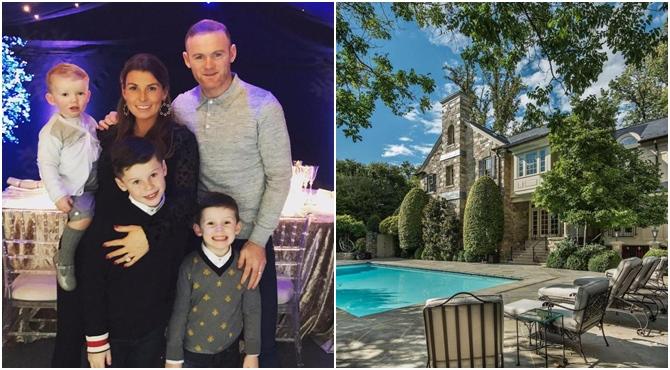 უეინ რუნი ვაშინგტონში 12 მილიონ დოლარად შეფასებულ სახლს ყიდულობს ( ვიდეო )