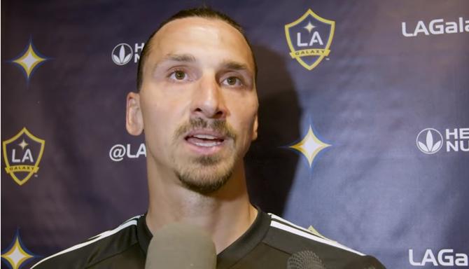 """იბრაჰიმოვიჩი: """"შეიძლება, MLS-მა დამსაჯოს, მაგრამ არ ინერვიულოთ, მე თავად ვარ MLS"""""""